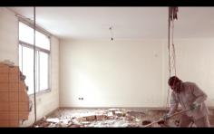 Nazgol Ansarinia, Fragment 2, Demolishing buildings, buying waste(still), 2016, Video, 6 mins 15 sec