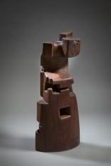 Chaouki Choukini, Tour, 2016, Bubinga, 57.5 x 24 x 17 cm