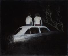 Alexander Tinei, Car, 2012, Oil on canvas, 80 x 100 cm