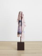 Ana Mazzei, Girl, 2017, Wood, linen and iron, 64 x 30 x 10 cm