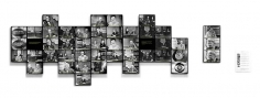 Alessandro Balteo-Yazbeck, Chronoscope, 1951, 11pm [Stelae],2009-2011