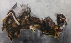 Shawki Youssef, Arab World Map, 2013, Mixed media on canvas, 200 x 333 cm