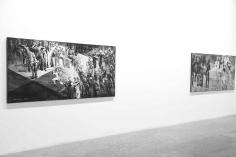 Grey Ash,Ahmad Moualla, Installation view at Green Art Gallery, Dubai, 2011