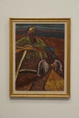 Inji Efflatoun, Untitled, 1958, Oil on canvas, 54.5 x 39.5 cm