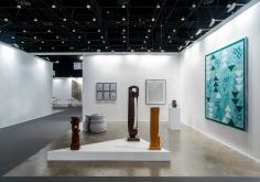 Installation view of Green Art Gallery, DubaiatArt Dubai, 2017