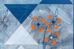 Kamrooz Aram, Ornamental Composition for Social Spaces (1) (detail), 2016