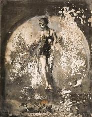 Zsolt Bodoni, Body no. 2/3, 2012, Acrylic on photo, 19 x 24 cm