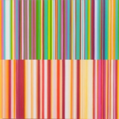 Words (Between the Lines of Age), 2014 / synthetic polymer on canvas / 48 x 48 inches