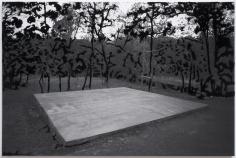 "Berend Strik ""Decipher the Artist's Mind: Performance (Melati Suryodarmo Studio)"", 2013 Stitched c-print on tyvek 21 x 31-1/2 inches"