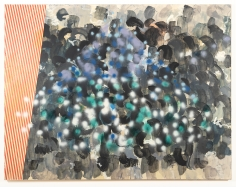 Keltie Ferris  Untitled, 2005  Oil on canvas  70 x 90 inches