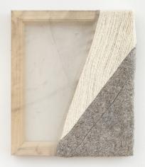 Martha Tuttle Sierra Negra (2), 2018 Wool, silk, pigment 12 x 10 inches