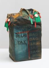 John Outterbridge Plus Tax: Shopping Bag Society, Rag Man Series, 1971