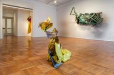 "Installation view of the Kennedy Yanko exhibition, ""Postcapitalist Desire"" at Tilton Gallery."