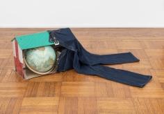 "Eduardo Abaroa, ""Soiciopathic Real Estate Item #34701"", 2004, mixed media, 16 x 54 x 36 inches."