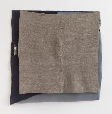 "Martha Tuttle ""Great bird"", 2018 Wool, silk, dye, steel 34-1/4 x 31-1/2 inches"