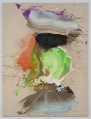 """Ed Clark """"Paris"""", 2009 Acrylic on canvas 73-1/2 x 54-1/2"""