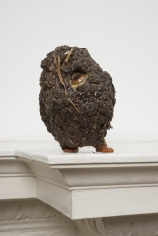 "Noel Anderson ""First Matter"", 2013 Horse dung and stuffed animal 4-1/2 x 4 x 4 inches"