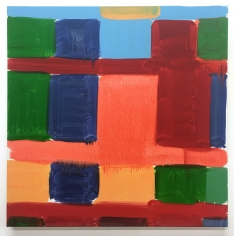 Stanley Whitney  Roma 19, 2020  Oil on linen  24 x 24 inches