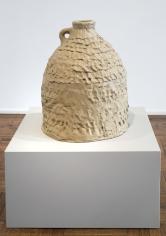 """Simone Leigh """"Jug"""", 2014 Unfired lizella 24 x 18 x 18 inches"""