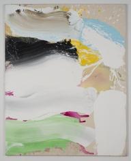 "Ed Clark ""Untitled"", 2009 Acrylic on canvas 81 x 64-1/2 inches"
