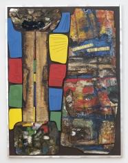 "Noah Purifoy ""Joshua Tree"", 1993  Construction  61-3/4 x 45-3/4 x 3 inches"