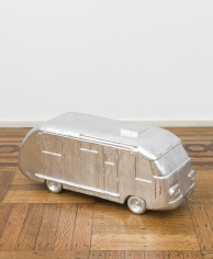 "Rirkrit Tiravanija ""Untitled 2001 (on the road with...be modern)"", 2000-2001 Plaster and enamel paint 9 x 22 x 10-1/2 inches"
