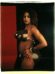 "Lyle Ashton Harris ""Venus Hottentot 2000"", 1994 Unique polaroid 24 x 20 inches"