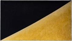 "Robert Yasuda ""St Martin's"", 1979 Acrylic emulsion on canvas 10 1/2 x 18 1/8 inches"