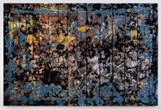 Berend Strik Decipher the Artist's Mind: remove the traces (studio floor Jackson Pollock), 2015