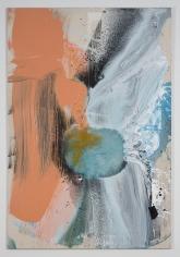 "Ed Clark ""Untitled"", 2004 Acrylic on canvas 77 x 51-1/4 inches"