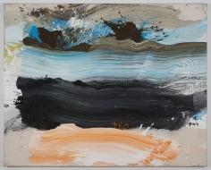 "Ed Clark ""Untitled"", 2001 Acrylic on canvas 64-1/2 x 81-1/4 inches"