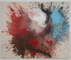 "Ed Clark ""Untitled"", 2005 Acrylic on canvas 53-1/4 x 66 inches"