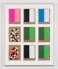 Kianja Strobert 3 x 3 no. 11- Dann - Blue, 2018