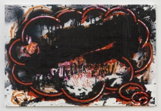 "Luca Dellaverson ""Bogotá"", 2017 Oil and inkjet on canvas 48 x 72 inches"