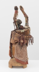 John Outterbridge  The Elder, Ethnic Heritage Series, c. 1971-72  Mixed media  29 x 11 x 12 inches