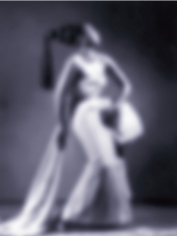 "Carrie Mae Weems ""Slow Fade to Black (Josephine Baker)"", 2009-2011 Inkjet print 49-1/4 x 37 inches"