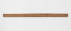 Richard Nonas  Untitled, 1973  Wood  94 1/2 x 5 x 1 3/4 inches