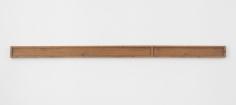 Richard Nonas  Untitled, 1973  Wood  94 1/2 x 5 x 1 3/4 inches