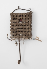 """John Outterbridge """"Untitled"""", 2006  Mixed media  50 x 33 x 6 inches"""