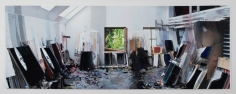 Berend Strik Decipher the Artist's Mind: Endless Painterly Space (Arnulf Rainer Studio), 2014