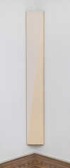 Robert Yasuda  The Floater, 1977  Acrylic emulsion on canvas  69-1/4 x 12-3/4 inches
