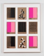 Kianja Strobert 3 x 3 no. 6 - Ich liebe dich - Pink, 2018