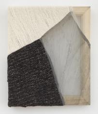 """Martha Tuttle """"Sierra Negra (1)"""", 2018 Wool, silk, pigment 12 x 10 inches"""