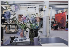 "Berend Strik ""Decipher the Artist's Mind: In Reverse (Toni Matelli Studio)"", 2014 Stitched c-print on tyvek 55 x 83 inches"