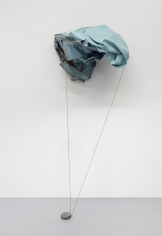 """Kennedy Yanko, """"Pleasure Page"""", 2021, paint skin, metal, painted wire, 73 by 31 by 29 inches (185 by 79 by 74 cm). Sculpture by Kennedy Yanko titled """"Pleasure Page"""" created in 2021.."""