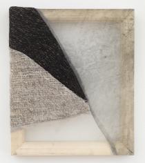 Martha Tuttle Sierra Negra (4), 2018 Wool, silk, pigment 12 x 10 inches