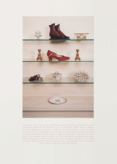 Sophie Calle, Red Shoe, 2000