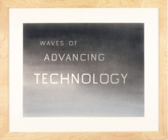 Ed Ruscha, Waves of Advancing Technology