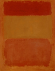 Mark Rothko, Orange, Red, Yellow, 1956, oil on canvas, 79 x 69 inches (200.7 x 175.3 cm)© 1998 by Kate Rothko Prizel and Christopher Rothko