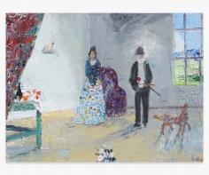 JOHN BRADFORD Hortense and Paul Cézanne, 2018